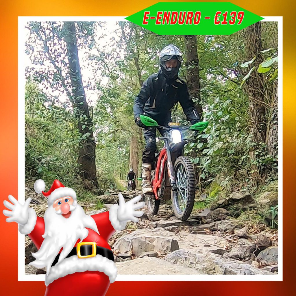 Kerst-initiaties Bilstain Endurofun 37Surron
