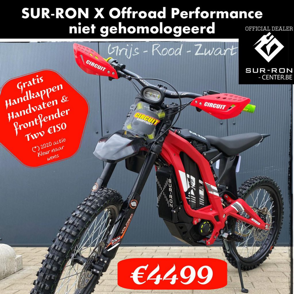 Surron-FireFly X offroad Performance Surroncenter.be