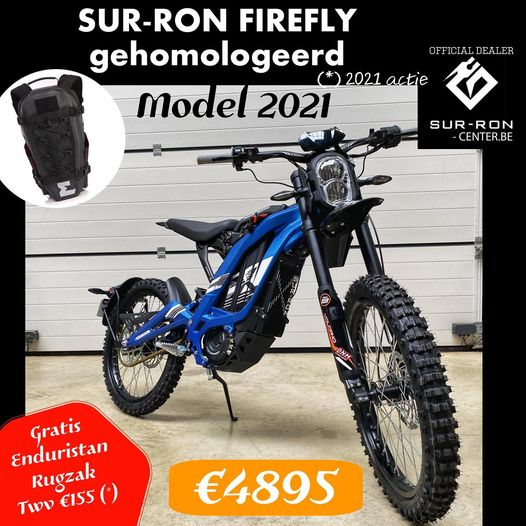 Surron center MY2021 Blauw Endurofun