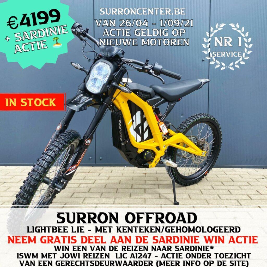 Surroncenter Surron offroad te koop 7