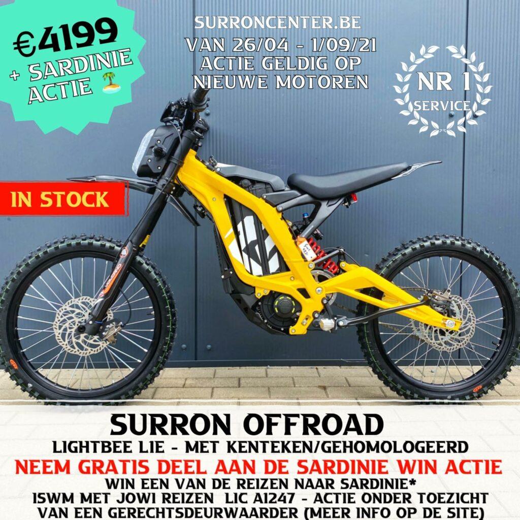 Surroncenter Surron offroad te koop 8