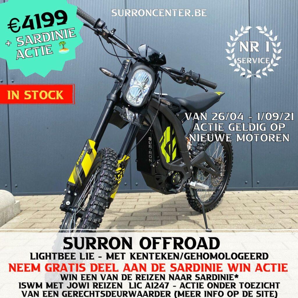 Surroncenter Surron offroad te koop 9