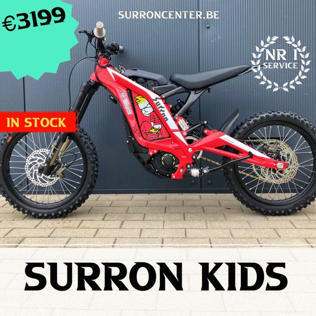 Surroncenter.be Te koop Surron Surronspecialist KIDS cartoon 2