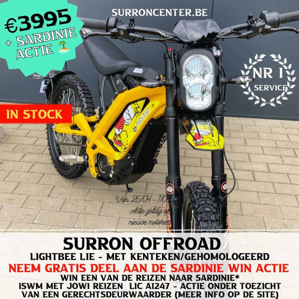 Surroncenter.be Te koop Surron Surronspecialist geel 1