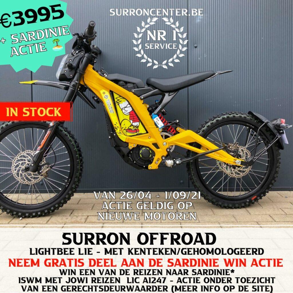 Surroncenter.be Te koop Surron Surronspecialist geel 2