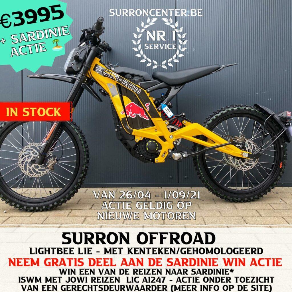 Surroncenter.be Te koop Surron Surronspecialist geel 2 redbull