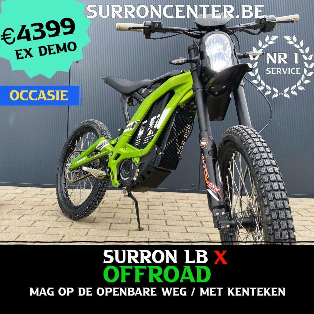 Surroncenter.be de Surronspecialist - stock model 10