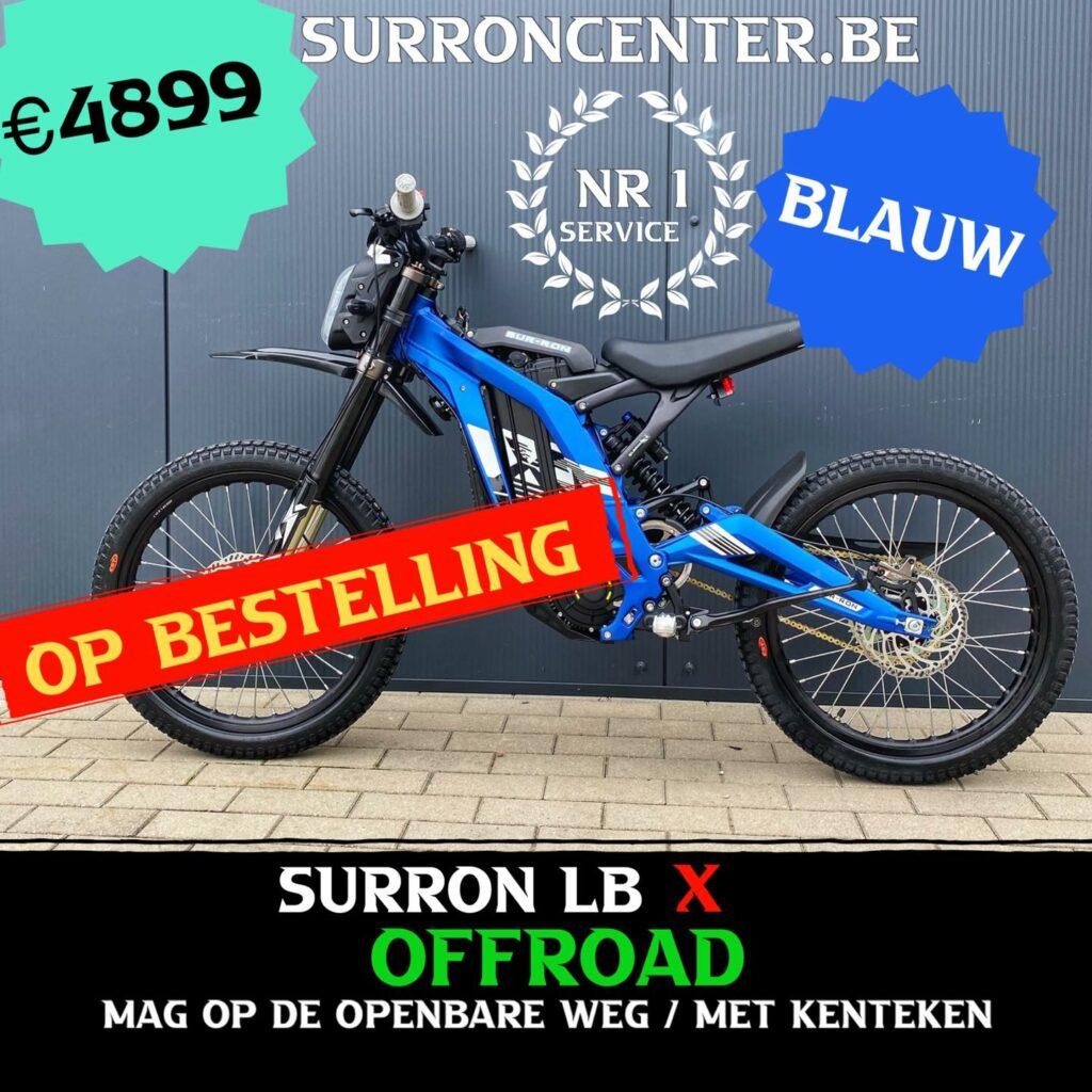 Surroncenter.be de Surronspecialist - stock model 14