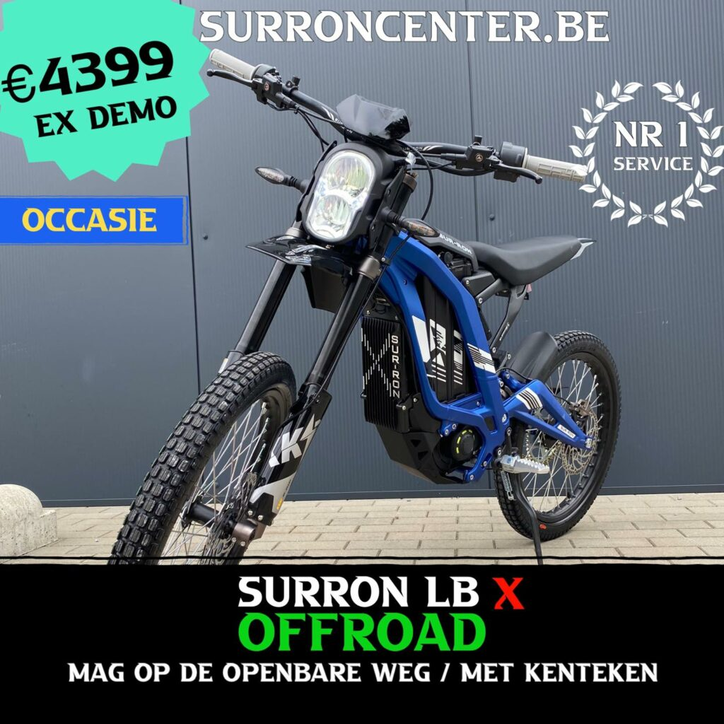 Surroncenter.be de Surronspecialist - stock model 9