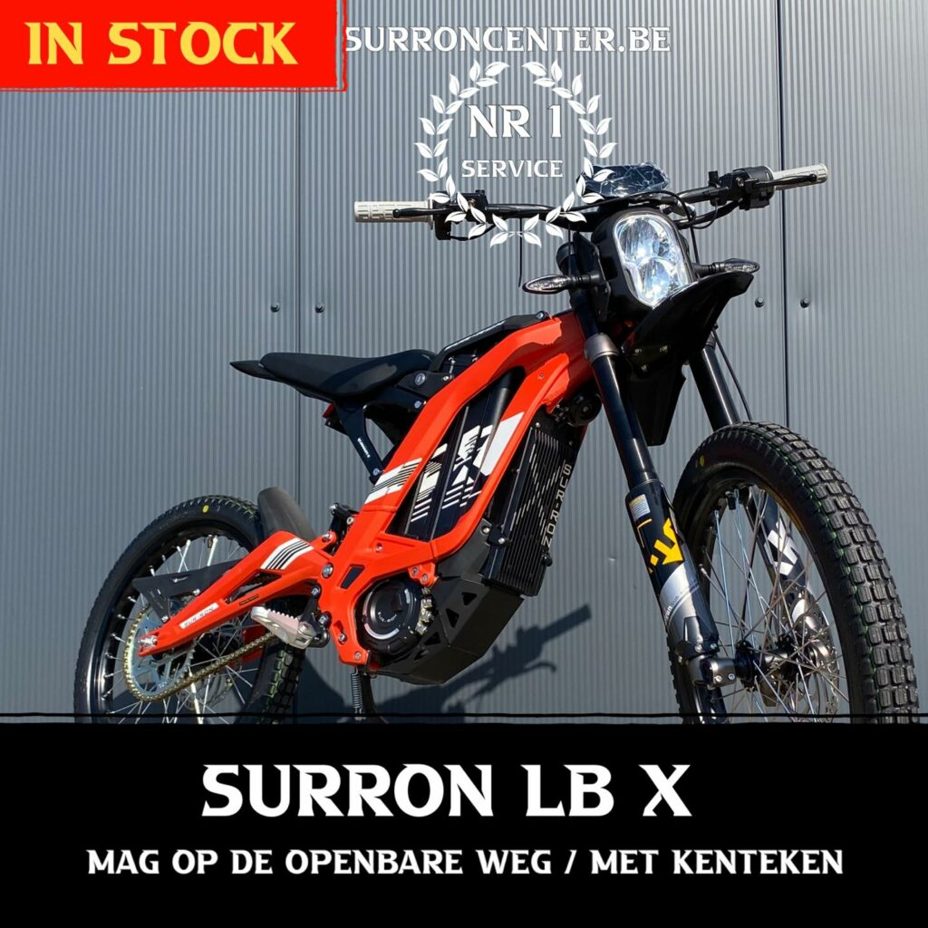 Surroncenter.be Surronspecialist Lightbee X 1-10-2021 6
